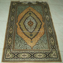 470KPSI 100% Silk Hand Knotted Persian Carpets and Rugs