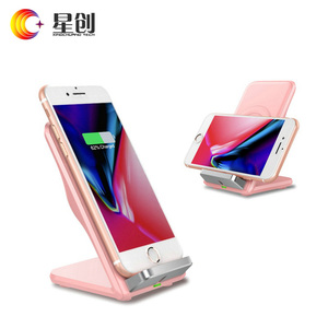 2018 mobile phone accessories fast charger air vent wireless charger for iPhone 2018