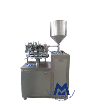 Micmachinery Hot Semi Aluminium Filling And Sealer Super Glue Machine Filler