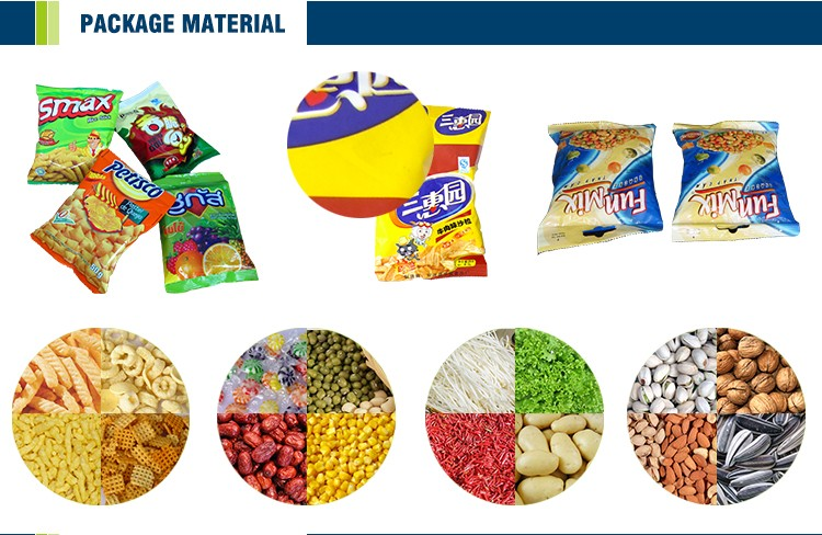 Multifunctional Made In China Cereal Bar Packaging Machine