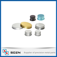 Color Aluminum Screw Caps