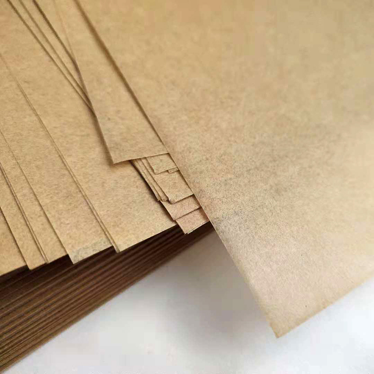 Customize logo foodgrade unbleached nature brown parchment paper sheet food grade baking paper