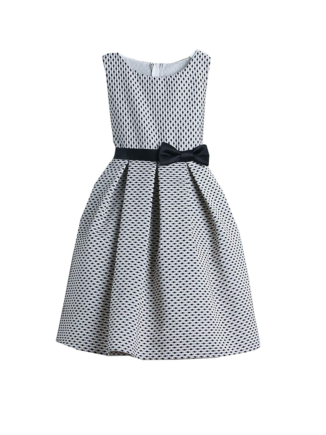 Cheap Black And White Polka Dot Flower Girl Dresses Find Black And