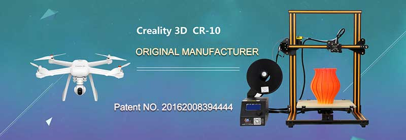Shenzhen Creality Cr-10 3d Printer Cr-10s Upgraded Version With Dual Z-axis  - Buy Creality Cr-10,Creality Cr-10 3d Printer,3d Printer Cr 10 Product on