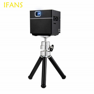 Mini Cube S6 DLP Projector 2000 Lumens/100 ANSI Lumens with Wi-Fi Wireless Portable Pocket Video Projectors