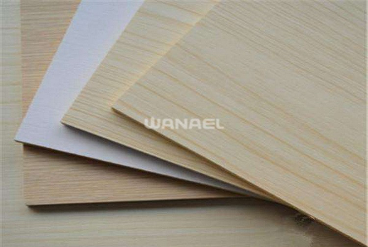 Wanael Furniture Grade 5 30mm Waterproof Melamine Paper Faced Mdf Fiberboard Price