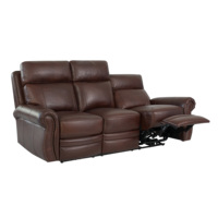 home furniture modular leather living room sofas with Heating massage 5V USB Port Scarlett