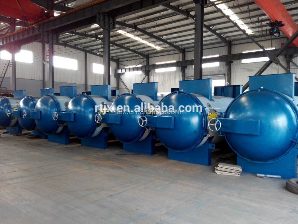 Horizontal Steam Vulcanizer Autoclave For Rubber Hose