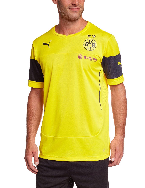 a8f4f01f06e6 Get Quotations · Borussia Dortmund Training Jersey 2014 – 2015 ...