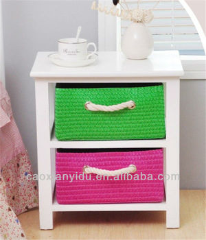 Basket Storage Unit With Wicker Baskets Gym Storage Units Cheap Price  Colouful Woven Drawers