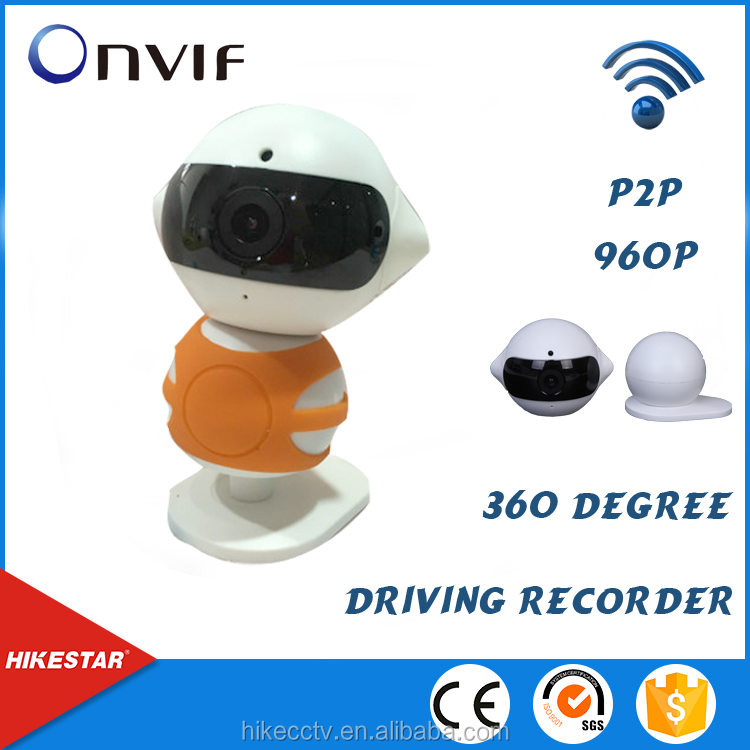 2016 survaillance network 360 motion detection smart p2p cctv wireless camera with speaker wifi ip