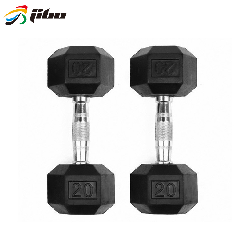 High quality Free <strong>weight</strong>/rubber coated dumbbell