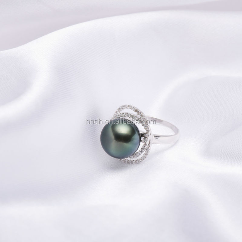 Wholesale Cheap Promotional pearl rings zircon for women