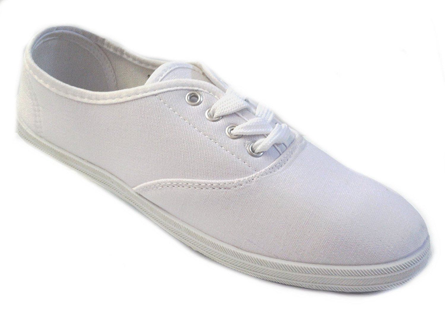 6d64cafe3376 Get Quotations · Shoes 18 Womens Canvas Shoes Lace up Sneakers 18 Colors  Available