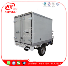 van cargo electric refrigeration tricycle/carry milk/ice cream truck /3 wheeler electric power keep cold