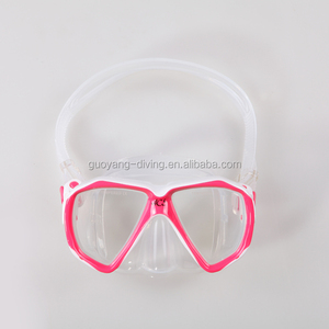 Newest Children Diving Mask Kids Swim Mask Snorkeling Mask made from transparent silicone