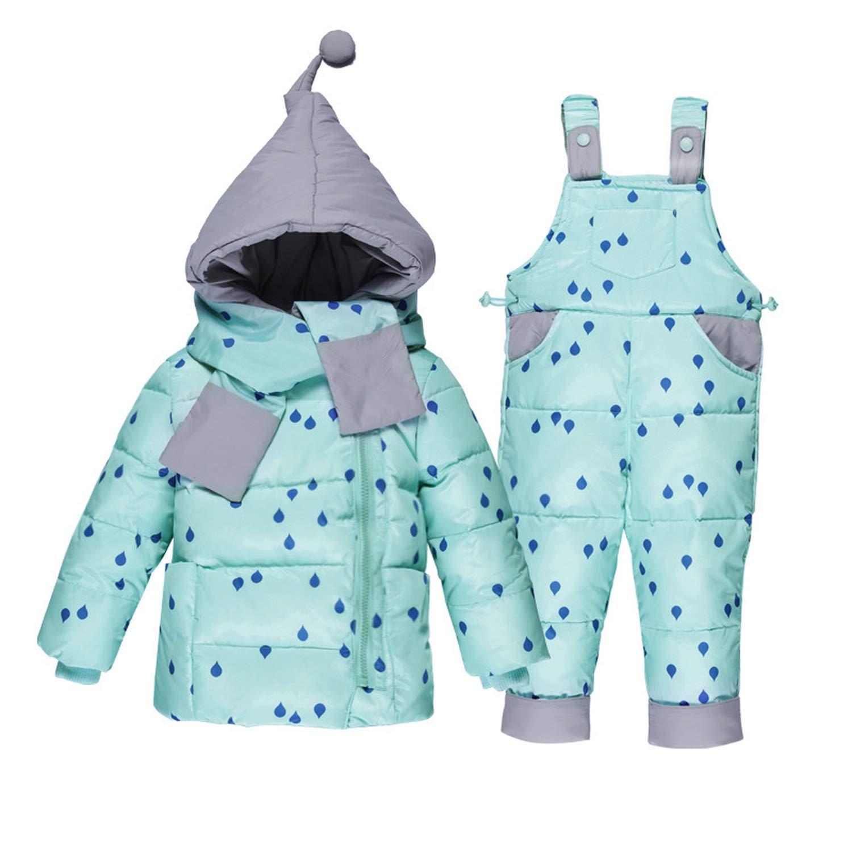 4ffa68ca9345 Mandaartins Winter Down Jackets for Baby Boy Girls Warm Coat Toddler  Snowsuits Children Outerwear