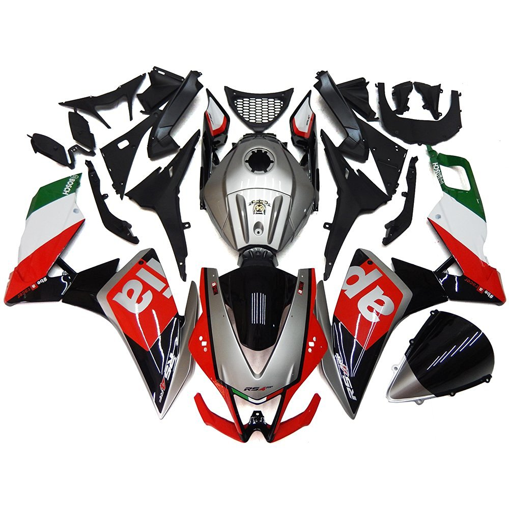 Sportfairings Motorcycle Body Kits 54 World Titles Cowlings Full Fairings Injection ABS Body Kits For Aprilia RS4 125 2012