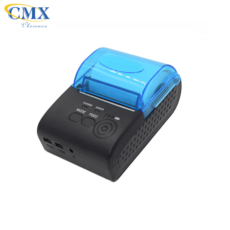Portable bluetooth printer Mini 58mm Pocket Mobile POS Thermal Receipt Printer with micro USB