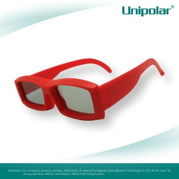 Passive Linear Polarized 3D Glasses for Imax