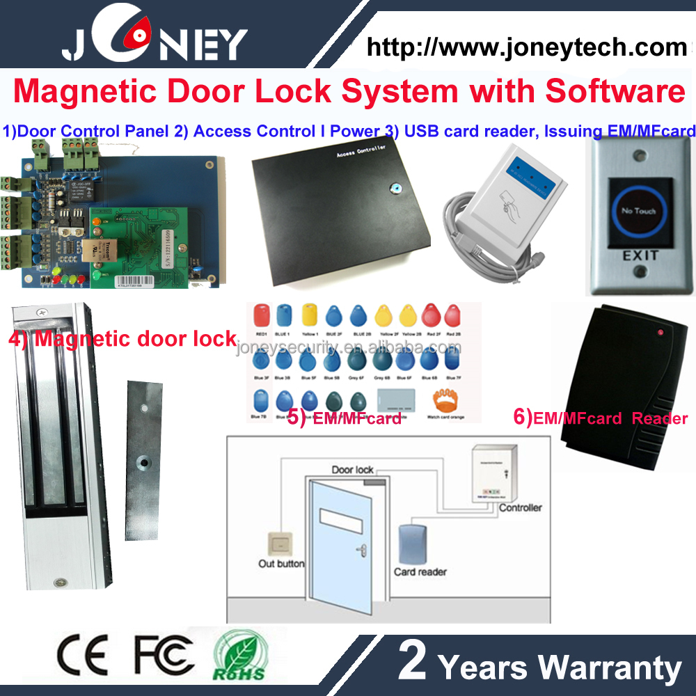 Access Control Honesty Rs232 Rs485 Rfid Access Control System Door Access Panel Interface Gate Access Controller For Two Door