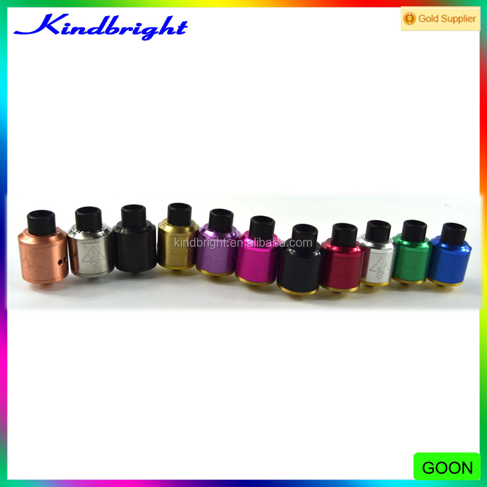 wholesale price!!!11 colors Goon 528 RDA Atomizer 1:1 Clone/Spartan mod/Timekeeper V2 mod kit Manufactured by Kindbright