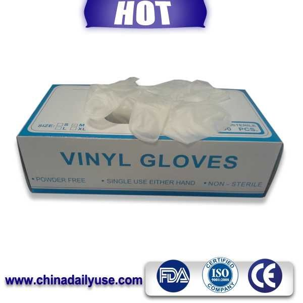 copolymer pe film surgical gloves and condom luvas vinil
