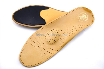 latex posture control latex and leather shoe insole fur insoles