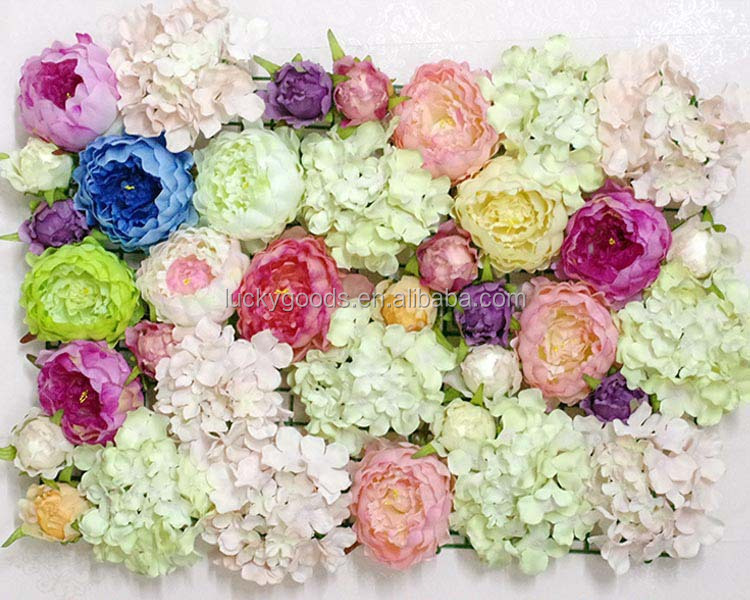 fake wedding flowers in bulk various color peony flower bloom bulk silk flowers 4002