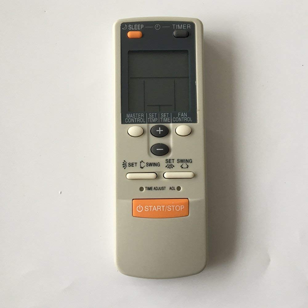 New Replacement Air Conditioner Remote Control for Fujitsu Ar-jw1 Ar-jw11 Ar-jw13 Ar-jw17 Ar-jw19 Ar-jw2 Ar-jw27 Ar-jw28 Ar-jw30 Ar-jw31