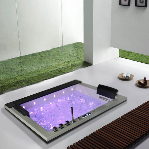 Monalisa Five Star Hotel Use Led Light Luxury Two Person Bathtub M ...