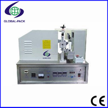 GTFS-005 Semi automatic ultrasonic soft tube liquid cream cosmetic filling and sealing machine