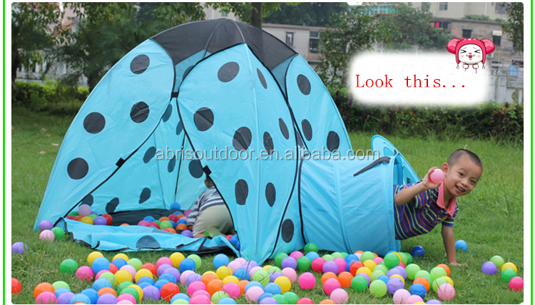 Ladybug animal shape tent children playing tent