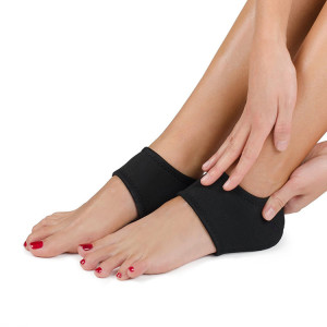 Adjustable Plain Neoprene Ankle Support Wrap for Badminton Football Sports Stabilize