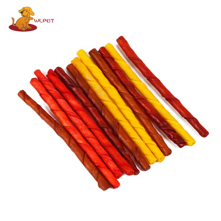 Colorful Pet Treats Stick Dog Food Puppy Chews