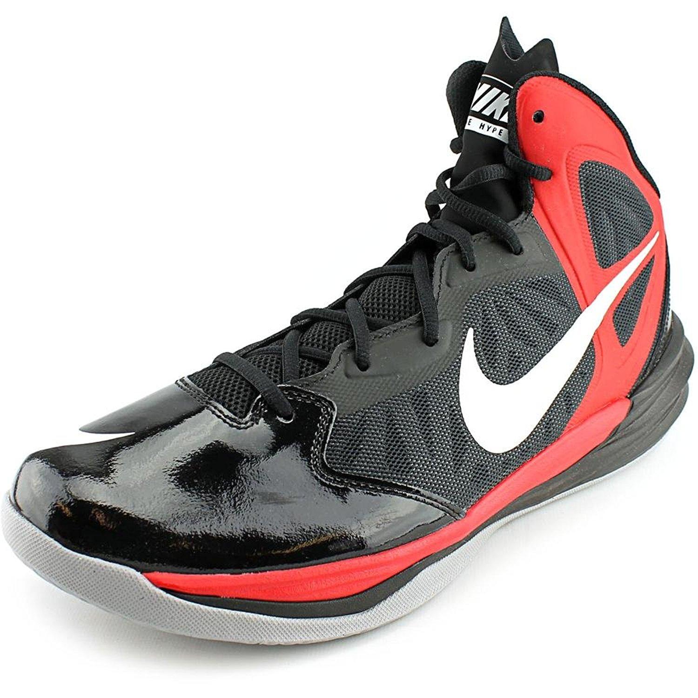 New Nike Men's Prime Hype DF Basketball Shoe Black/University Red 14