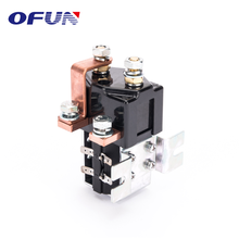 OFUN 2018 New Products Dc High Voltage Magnetic Contactor 400A