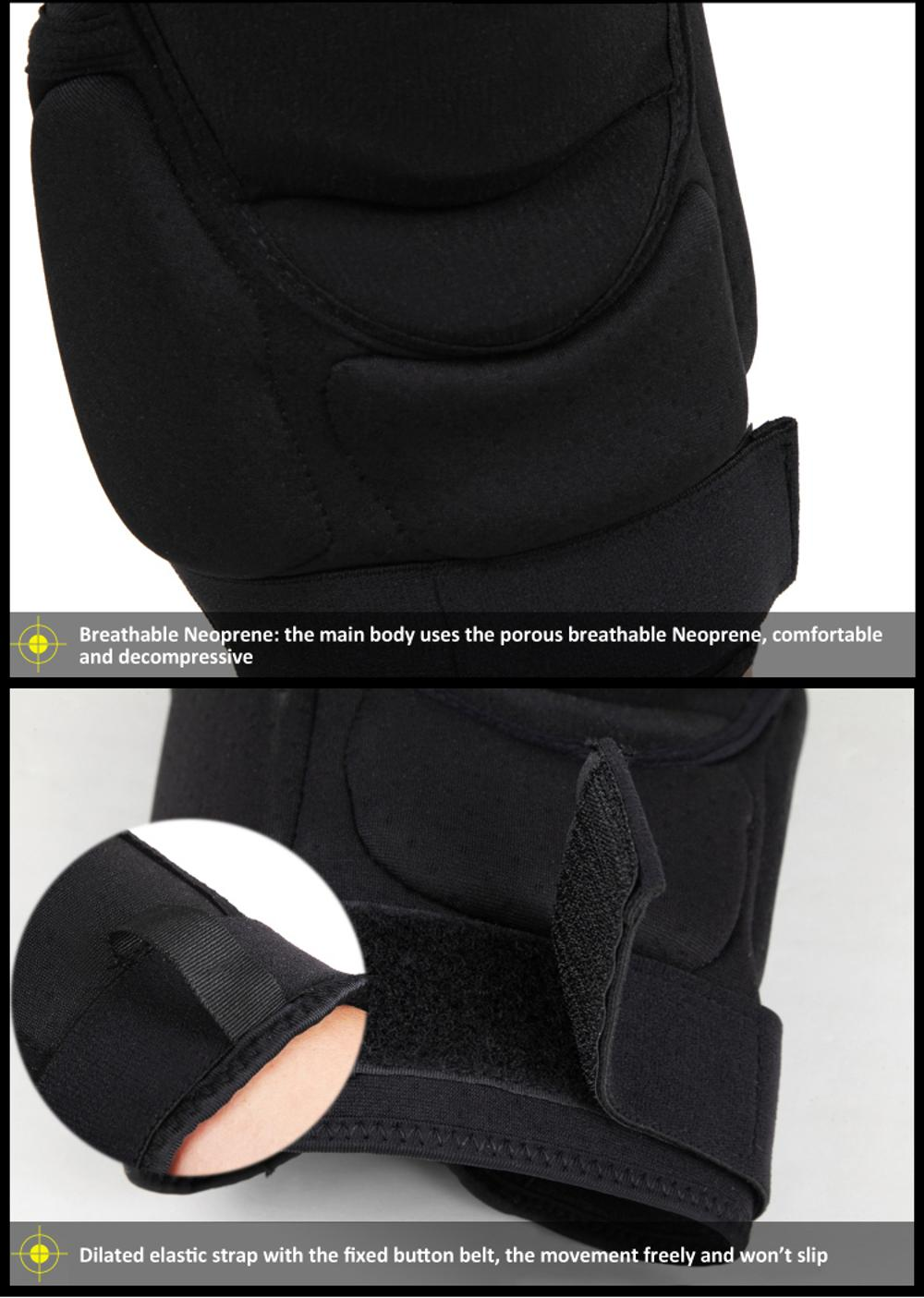 Best Selling Aramid Fiber Knee Pads Motorcycle Bicycle Safety Equipment 13