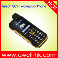 IP67 Waterproof Rugged Phone 2 Inch Dual Sim Card GSM CDMA 800MHz Power Bank 4800mAh Big Battery