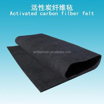 Activated Carbon Fiber Felt Carbon Fiber Sheet