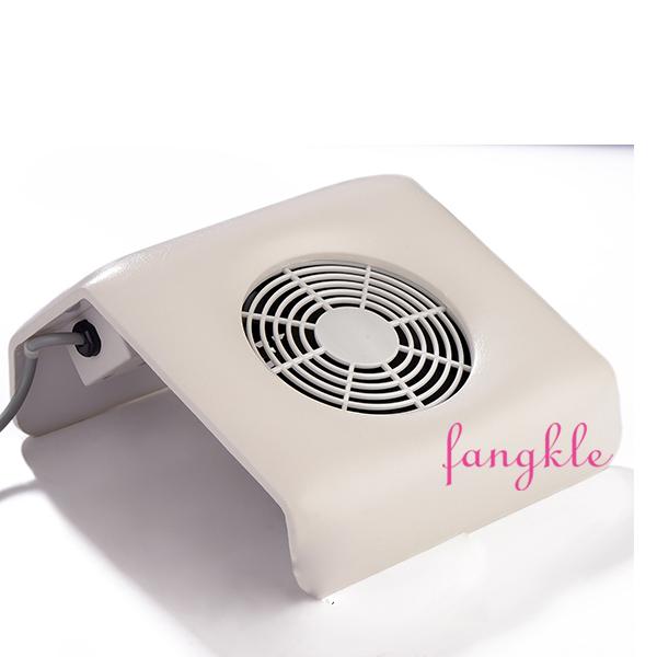Portable Salon Electric Nail Dust Collector Fan Nail Table Draft Fan ...
