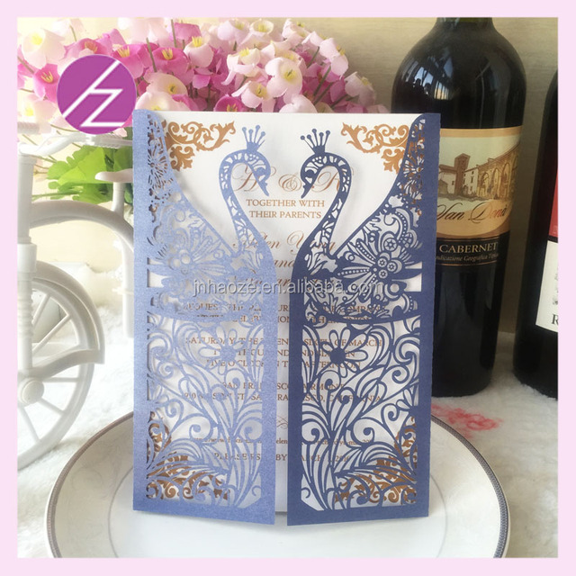 Buy cheap china us sell greeting card products find china us sell lovely swan elegant wedding invitation cards best selling latest unique customized color party event invitation m4hsunfo