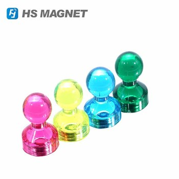 large size multi color magnetic push pins 20 assorted color for map
