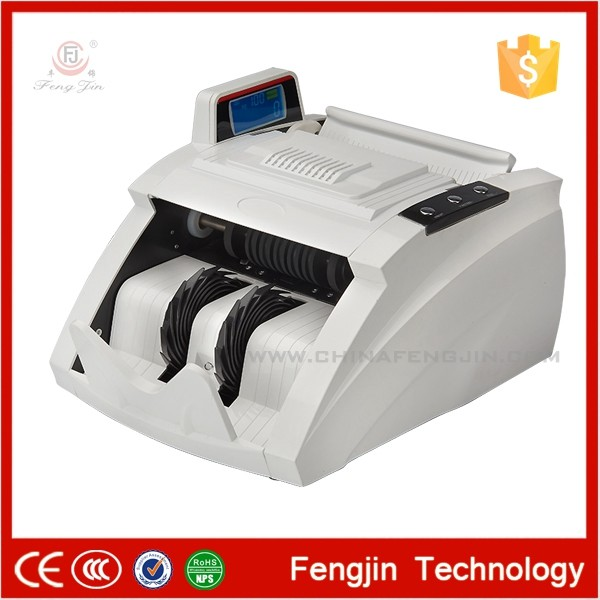 professional mixed denomination multi currency value money counter banknote counter machine bill value counter of euro u-Fengjin