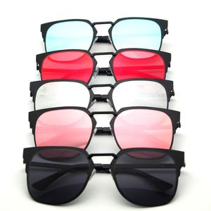 ea346d5e4cf Glasses manufacturers wholesale mirror lens true film colorful fashion  sunglasses