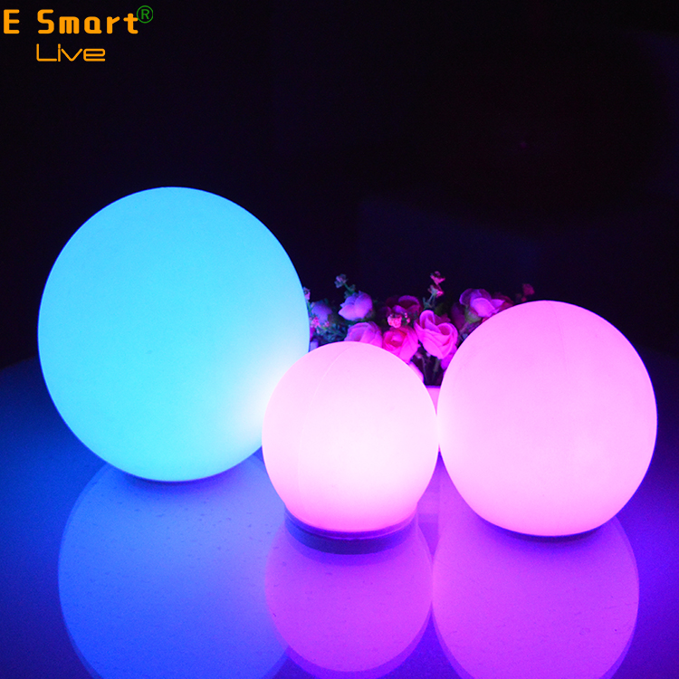 2017 hot sale led moon light ball, moonlight led ball light, floating led illuminated swimming pool ball light