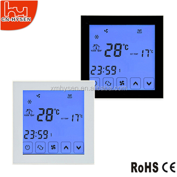 HVAC Touch Screen Floor Heating Room Thermostat
