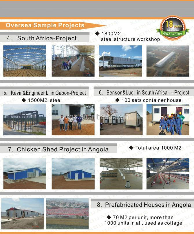 steel structure poultry farm building