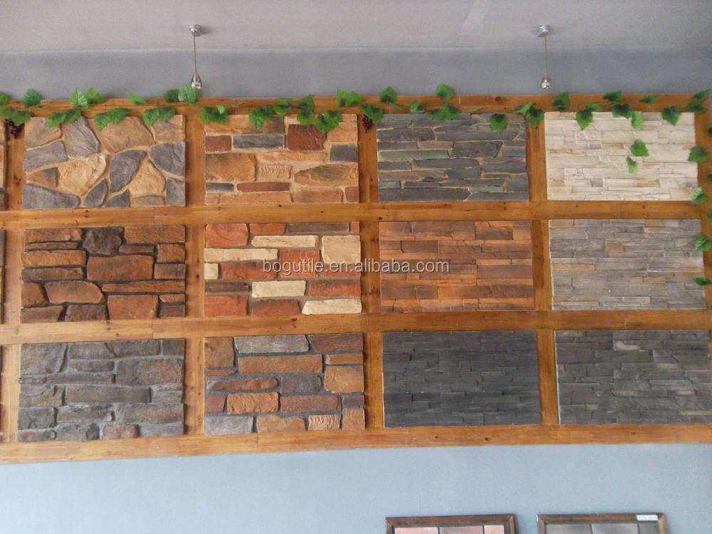Baldosas imitacion piedra para paredes free papel pintado for Azulejos pared exterior