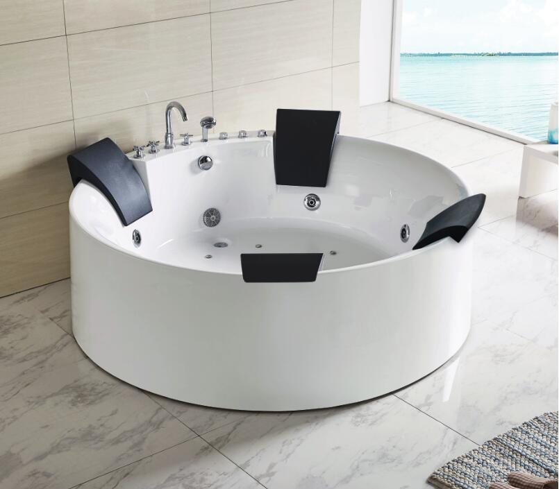 Acrylic Big Round Bathtub Wholesale, Round Bathtub Suppliers - Alibaba